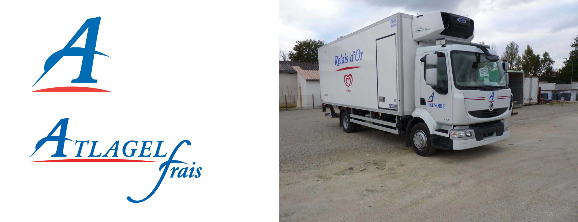 bandeau logos + camion
